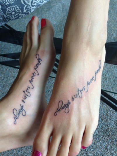 forever friends tattoo