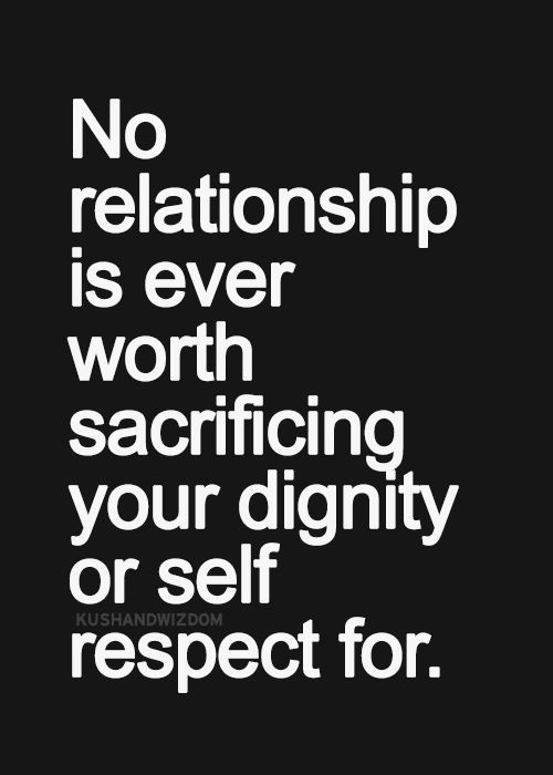 Bon Self Respect Quote Picture