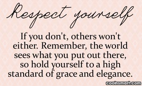 Genial Respect Yourself