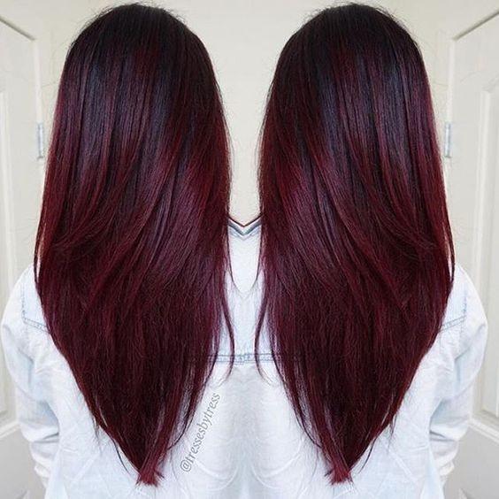 Straight V Hairstyle Long Haircut Entertainmentmesh