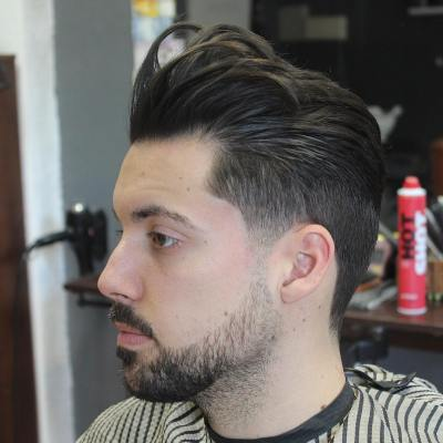 14-Slicked Back Hairstyles 2017