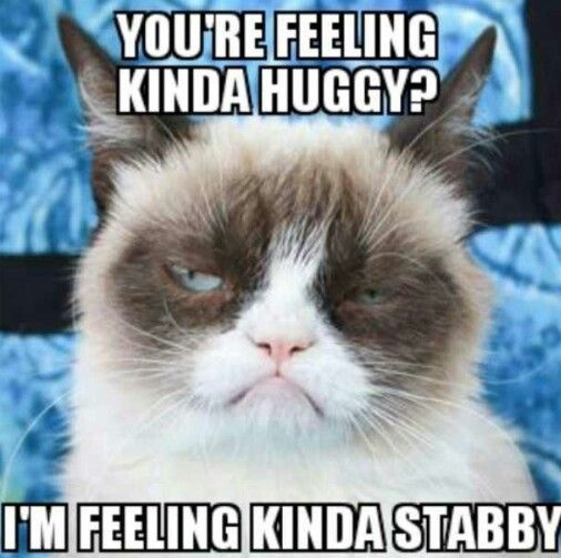feeling Kinda huggy