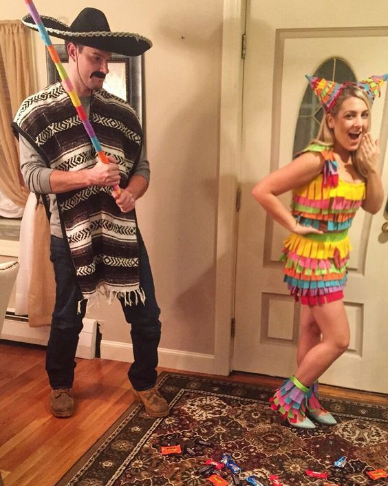 DIY cute,Funny Unique Couples Halloween Costume Ideas