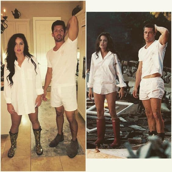 Romantic Couple Halloween costume