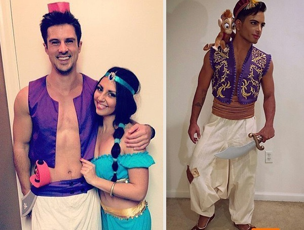 aladdin disney halloween men costume