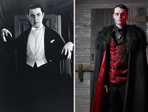 Dracula Vampire Mens Halloween Costume