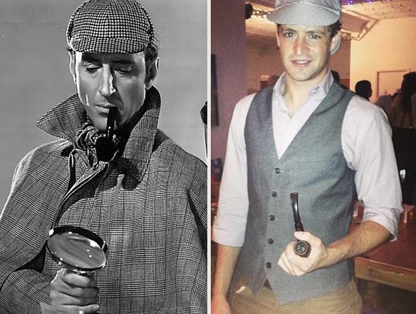 Sherlock Holmes Men Halloween Costumes