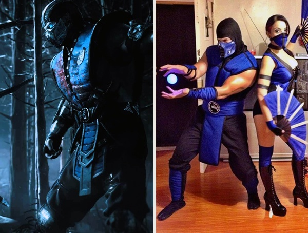 Sub Zero from Mortal Kombat Cool Halloween Costumes