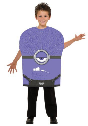 DIY Despicable Me 2 Purple Minion Costume ideas
