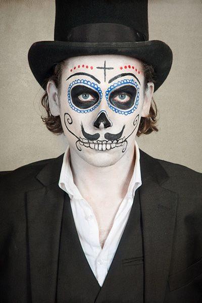 Gothic Face Paint Entertainmentmesh