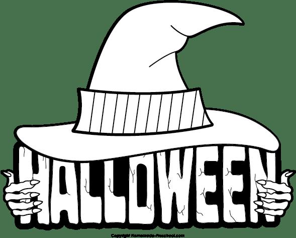 Halloween Clipart Black And White Entertainmentmesh