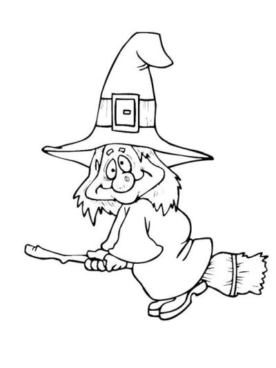 Halloween Witch Drawings fun photos