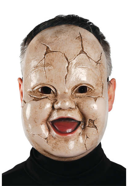 scary Halloween mask- giggles doll
