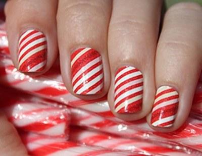 candy-cane stripes