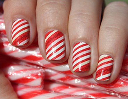 candy-cane stripes