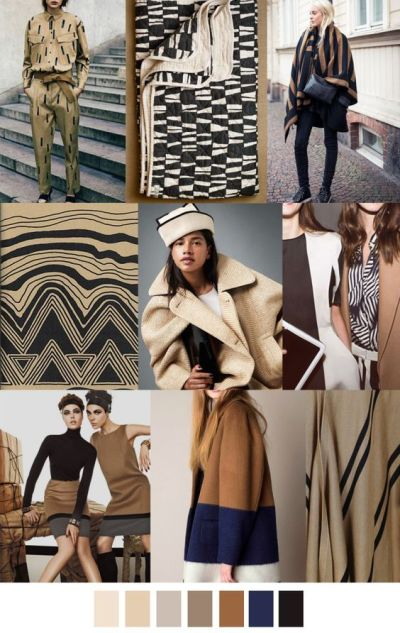 fall winter 2017-2018 colors trends patterns - Herbst Farbpalette
