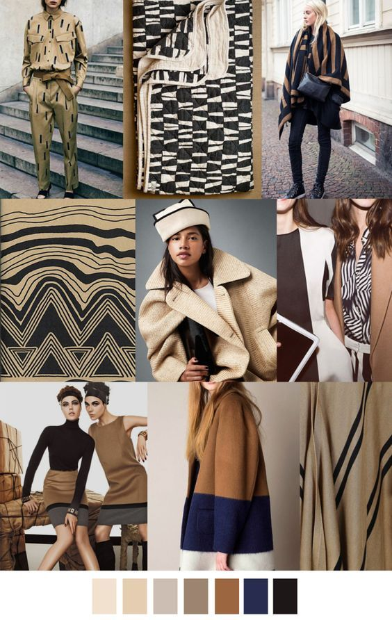 Fall Winter 2017 2018 Colors Trends Patterns Herbst Farbpalette