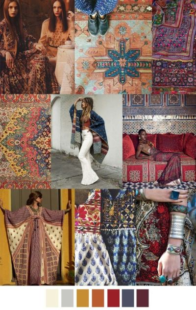 fall winter 2017-2018 colors trends patterns - Into The Mysti