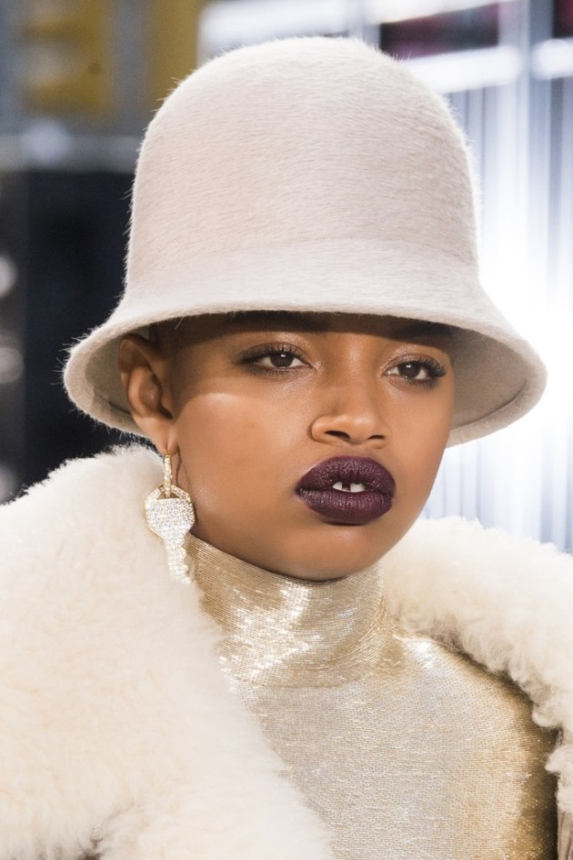 fall winter makeup trends Vampy Lips