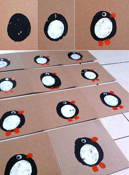 cute handmade Christmas cards Ideas for Kids