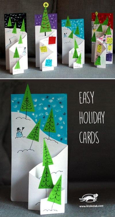 easy Christmas cards