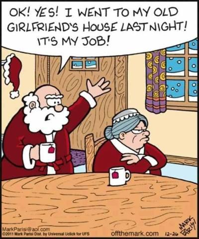 funny Christmas Santa Claus sayings