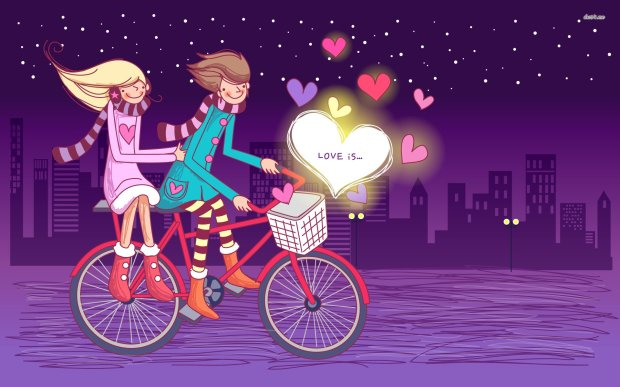 cute love hd wallpaper