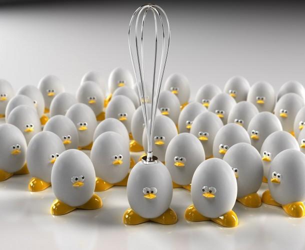 funny 3d eggs photo