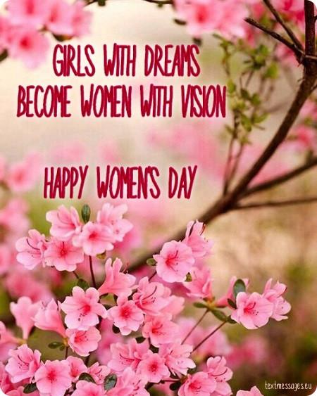 beautiful happy womens day message pics