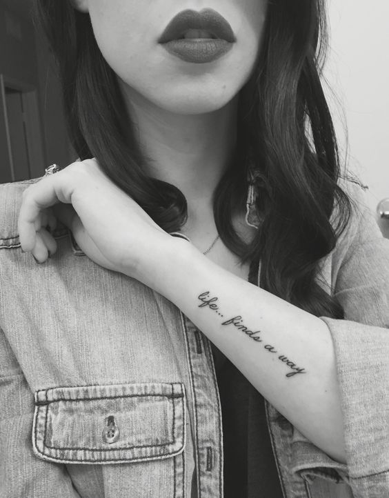 quote tattoos about life