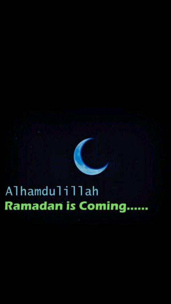 alhamdulillah ramadan is coming