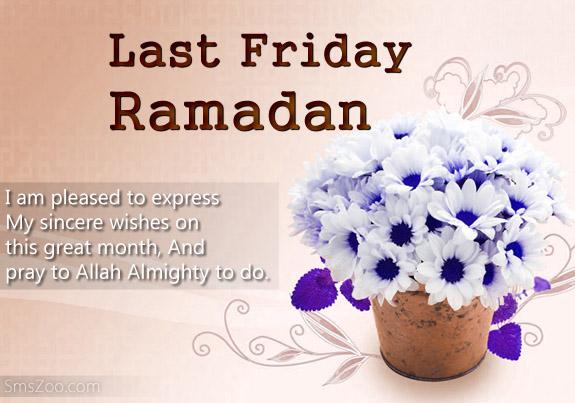 last friday Ramadan