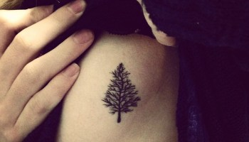 Christmas Tree Tattoo Ideas.30 Simple And Elegant Small Tattoo Designs For Girls