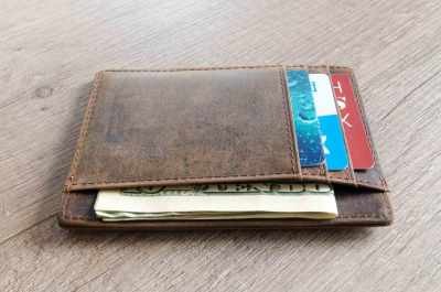 Classic Wallet filled with cards