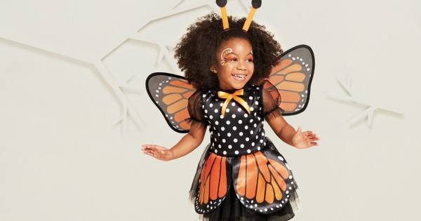 butterfly toddler girl costume ideas for halloween
