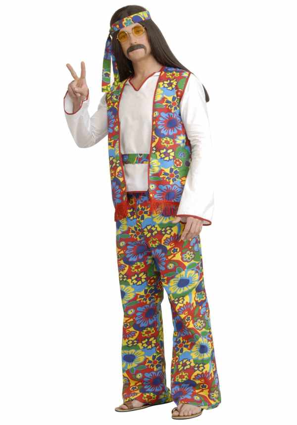 hippie men with long hair costume ideas for halloween