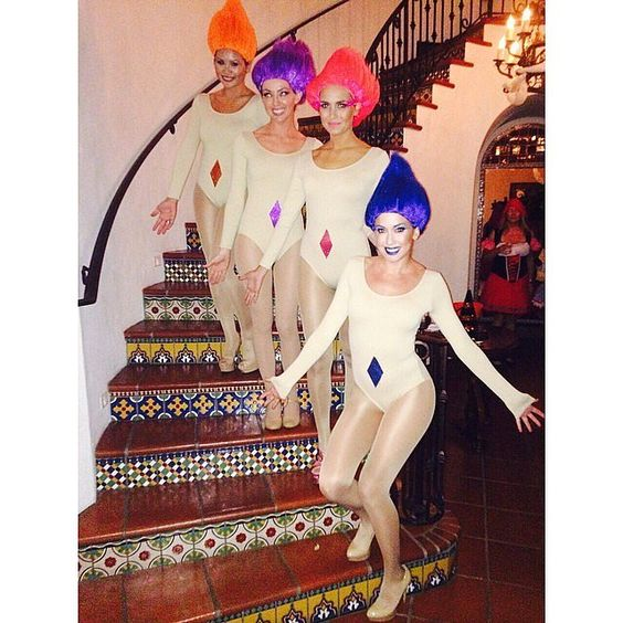 troll costume ideas for college girls on halloween