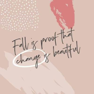 fall season quotes