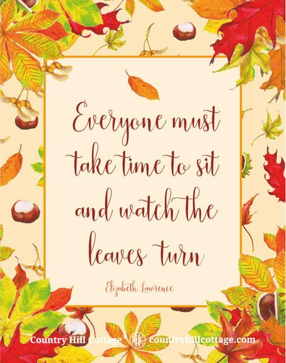 falling leaves quotes