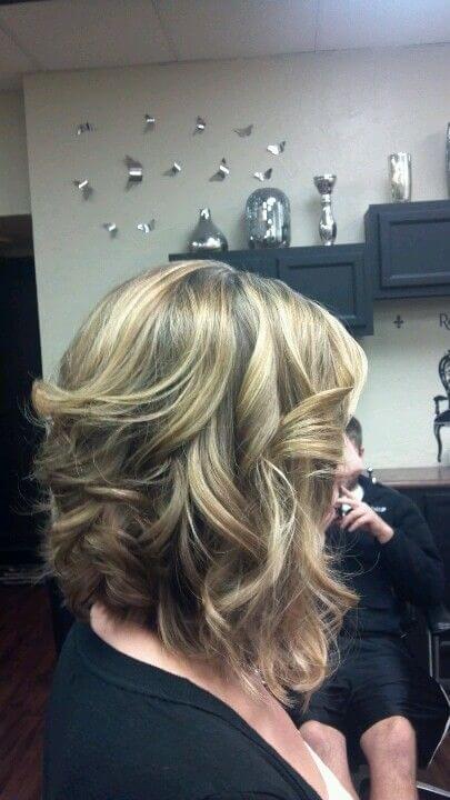 inverted curls