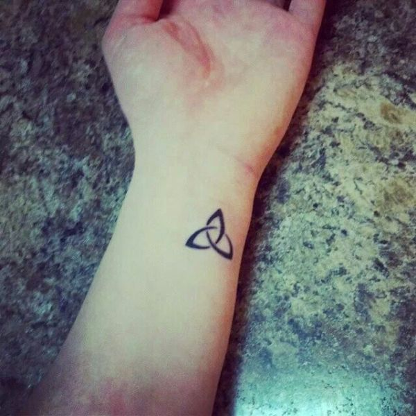 trinity knot tattoo