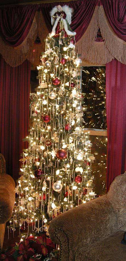 tiny lights decor tree