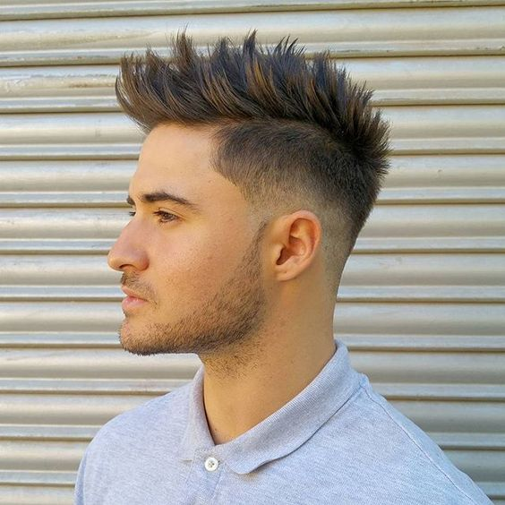 men haircut types-quiff