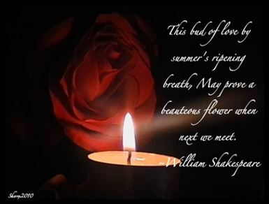 William Shakespeare love quote