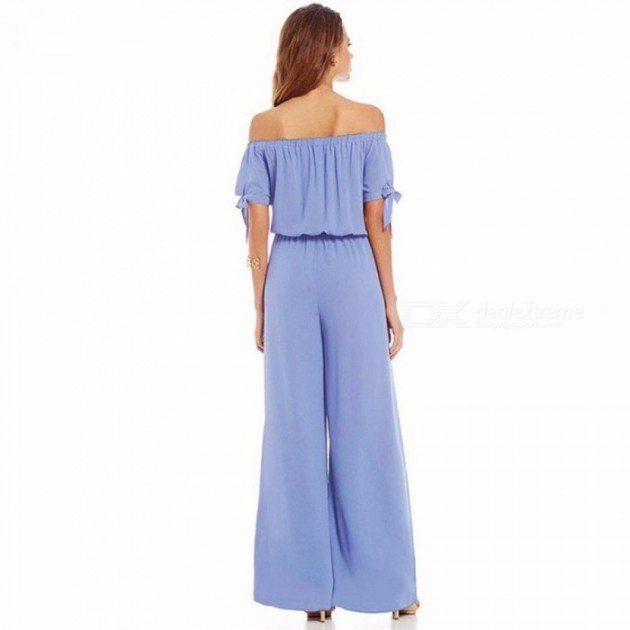 off shoulder jumpsuit ideas for spring 2019