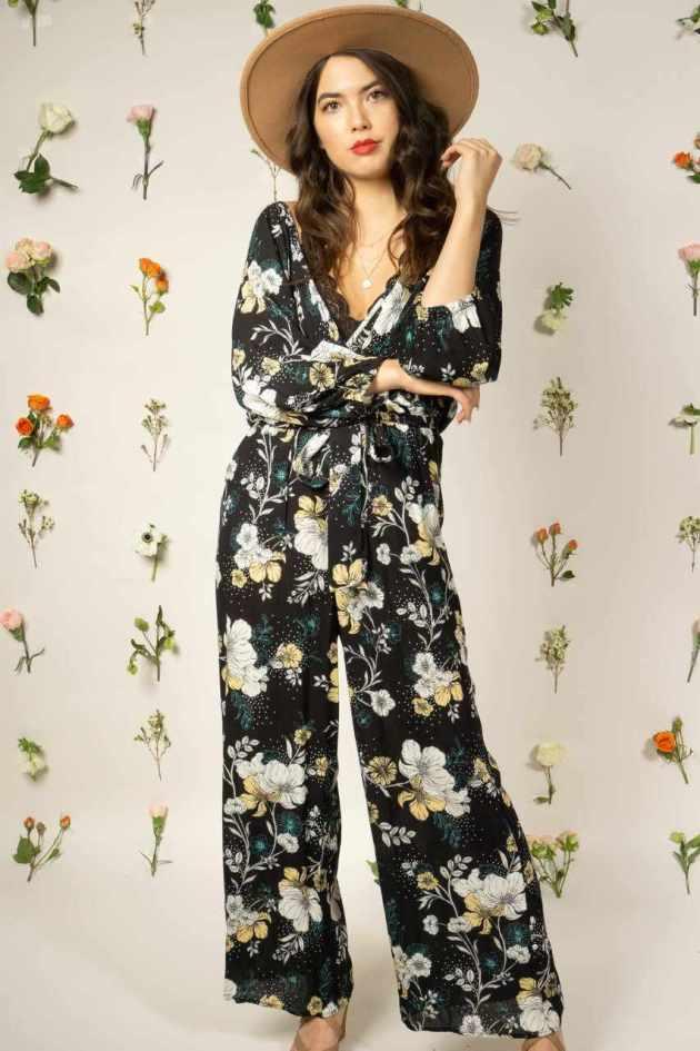 spring floral jumpsuit ideas for 2019