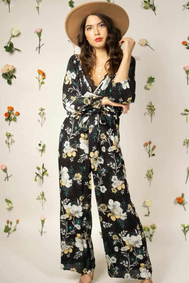 spring floral jumpsuit ideas for 2019