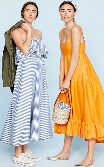 flutter sleeve v neck top with skirt and ruffled maxi dress for summer