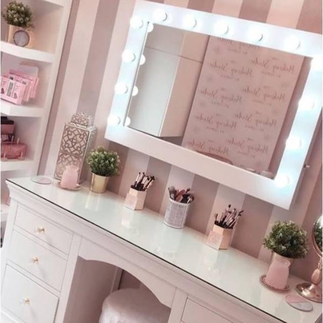 vanity room mirror ideas