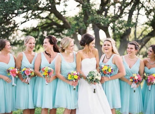 mint blue wedding dress color ideas for 2019